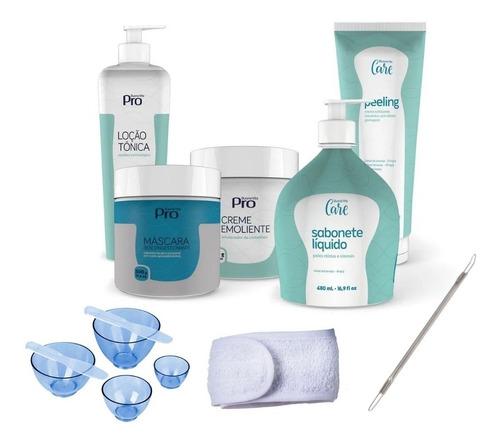 kit limpeza de pele profissional buona vita premium