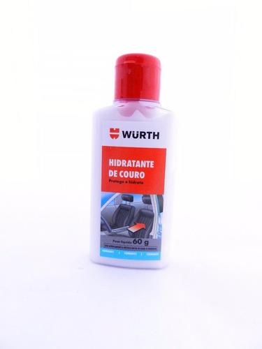 kit limpeza e hidratação de couro wurth - limpa e hidrata