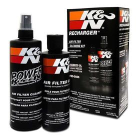 Kit Limpeza Filtro Ar K&n Kn Recharger + Brindes Exclusivos