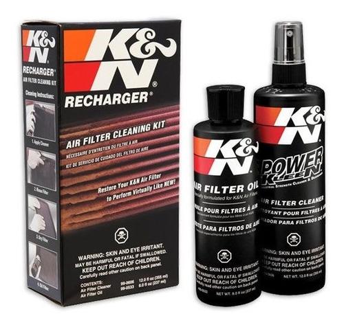 kit limpeza filtro de ar k&n kn