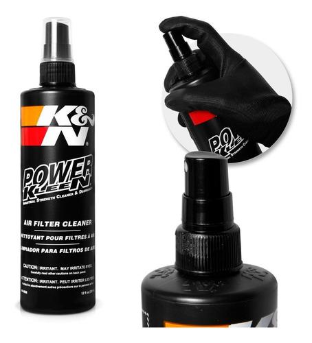 kit limpeza filtro detergente + óleo aerosol 192ml recharger