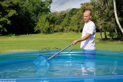 kit limpeza manutenção piscina