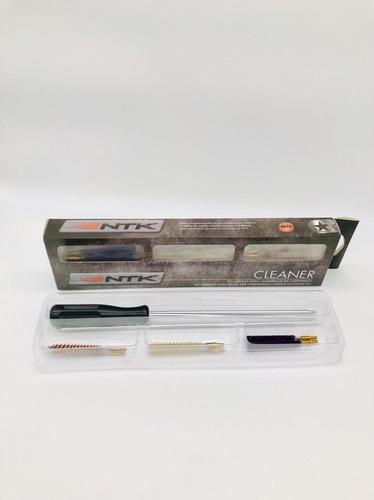 kit limpeza ntk carabina pistola de pressão 4,5 / 5,5 mm