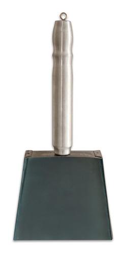 kit limpeza para forno pizza escova + espátula + pá p/ cinza