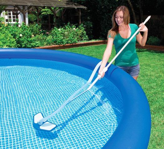 Kit limpeza para piscina cabo 279 cm aspirador magueira for Aspirador de piscina