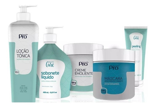 kit limpeza pele buona vita + mascara térmica + kit cubetas