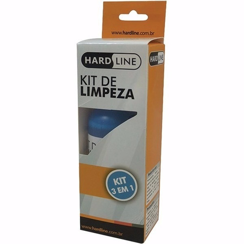 kit limpeza telas lcd e notebooks kcl1018 100ml hardline