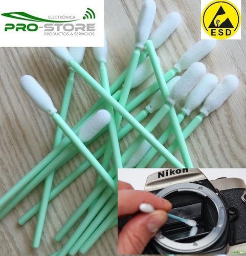 kit limpieza  camara  pera de aire+coton y paño antiestatico