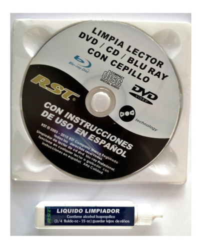kit limpieza de  lector cd, dvd y blue ray oferta
