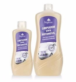 kit limpieza ecológica lavavajilla, auto,alfombra y multiuso