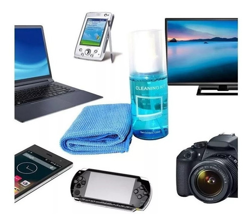 kit limpieza pantallas lcd led plasma tablet laptop monitor