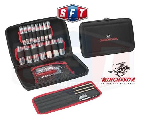 kit limpieza winchester arma corta y larga 32 piezas s f t®