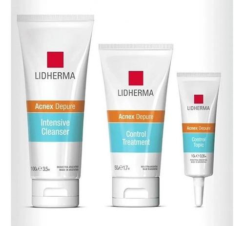 kit línea acnex depure (anti acné) - lidherma