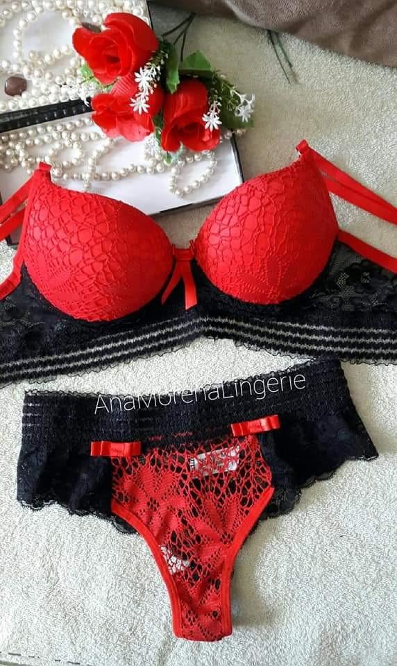 86873227fec63f Kit Lingerie De Boa Qualidade E Um Bom Preço Peça Já