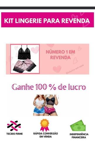 kit lingerie para revenda