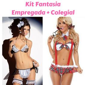980d013c2 Lingeries Sexys Empregada no Mercado Livre Brasil