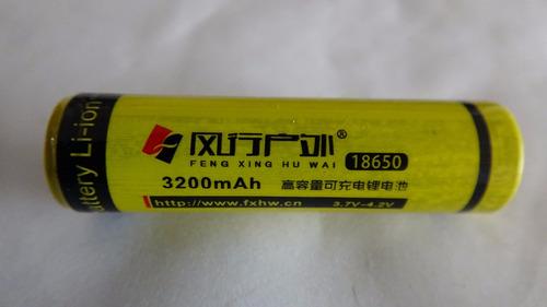 kit linterna bicicleta 2000 lum + bateria + cargador