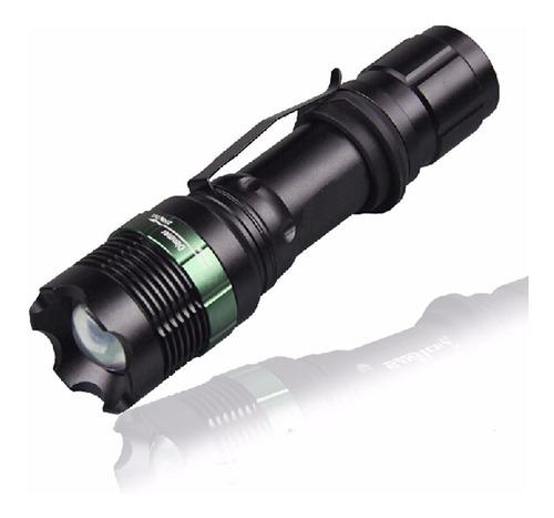 kit linterna led recargable altapotencia ultrafire 1600 lume