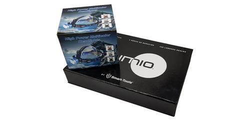 kit linterna lumio l-101 y linterna de cabeza led cree