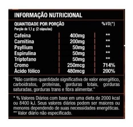 kit lipo 7 fire 120 caps + colágeno hidrolisado  (120 cáps)