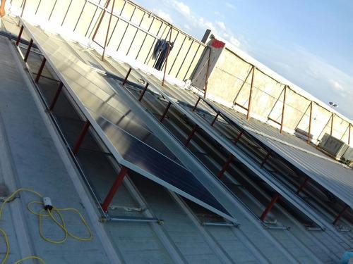 kit listo para instalar de panel solar 310 watts