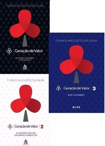 kit livro geração de valor - vol 1, 2 e 3
