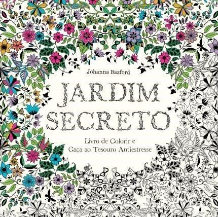 Kit Livro Jardim Secreto Lápis 50 Cores Supersoft Faber