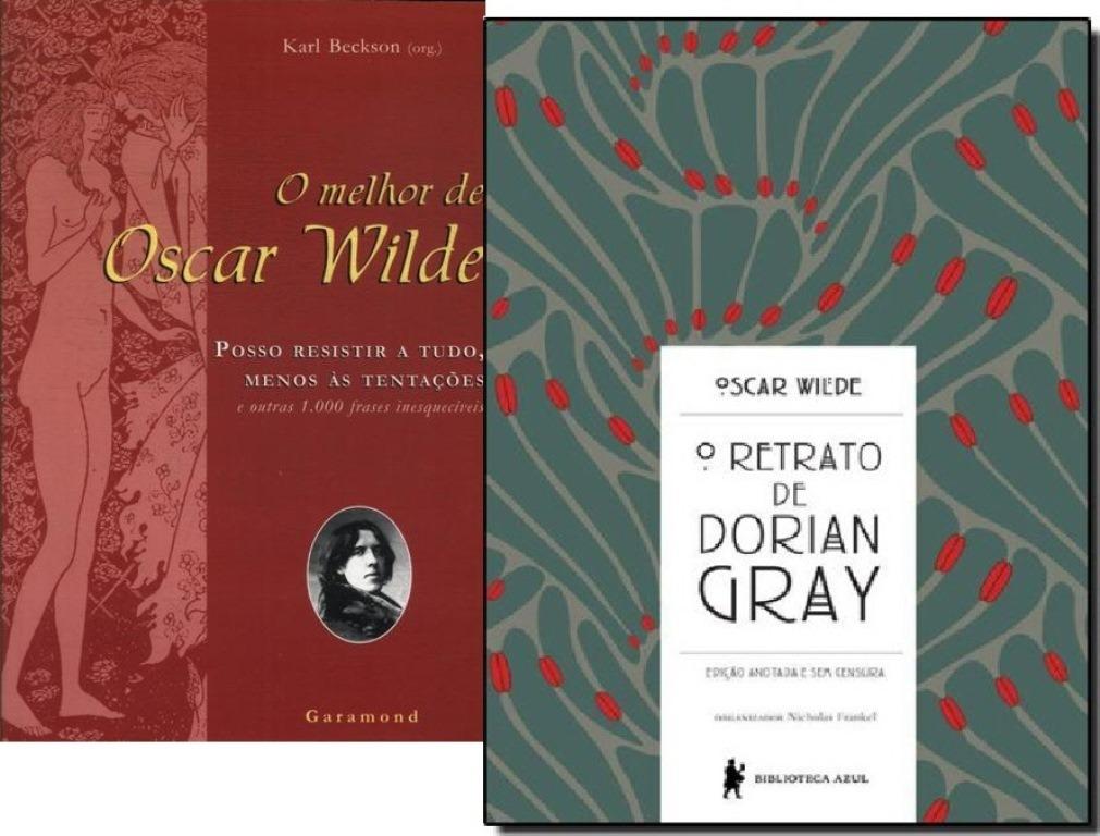 Kit Livro O Melhor De Oscar Wilde O Retrato De Dorian Gray R 67