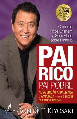 kit livro pai rico pai pobre ed atualizada + livro me poupe!