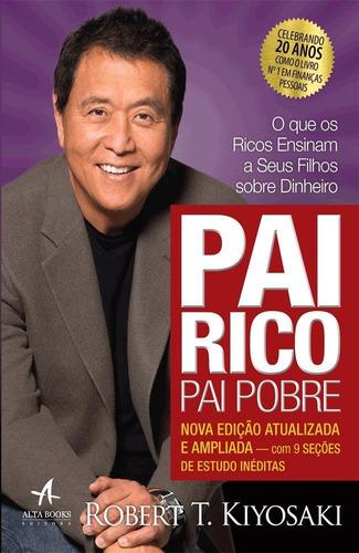 kit livro pai rico pai pobre + livro me poupe! frete gratis