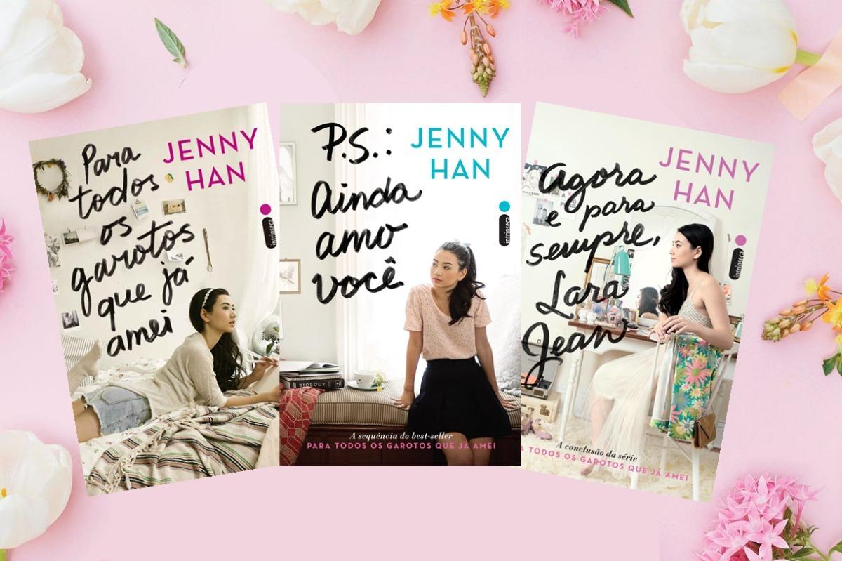 9430ec8c2 kit livro para todos os garotos que já amei 3 vols jenny han. Carregando  zoom.
