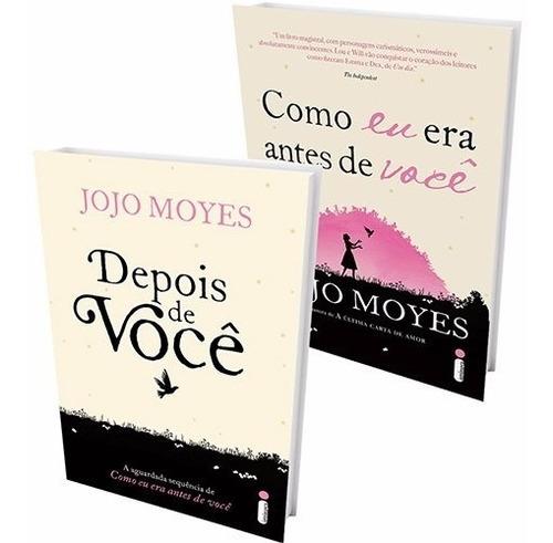 kit livros - como eu era antes de você + depois de você #