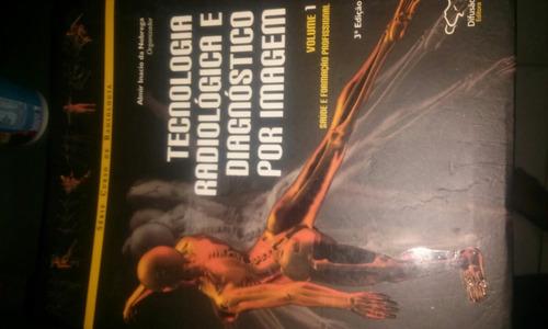 kit livros de radiologia e diagnóstico por imagem