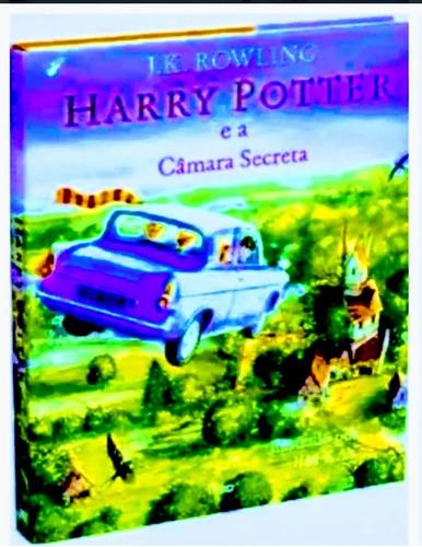 kit livros harry potter  ilustrados - 3 livros - lacrados