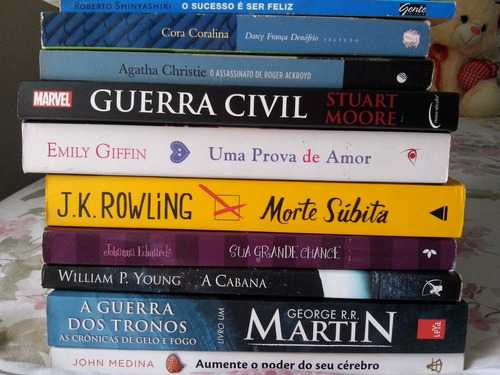 kit: livros morte súbita + guerra civil