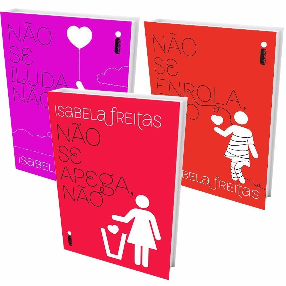 Kit Livros Não Se Apega Não Se Iluda Não Se Enrola R 63