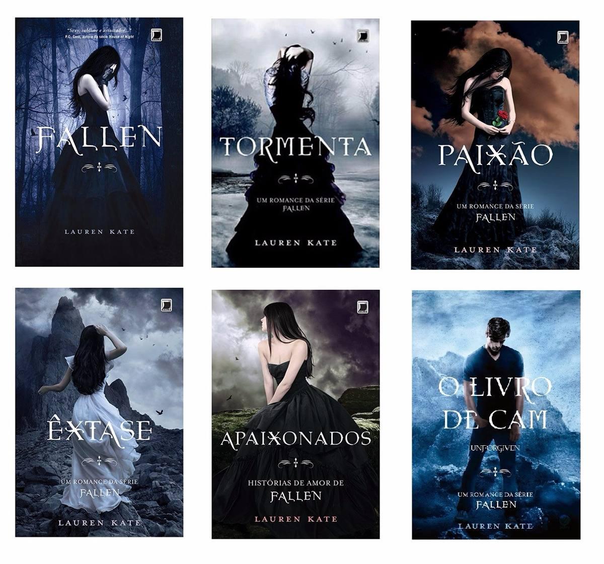 o livro tormenta da serie fallen