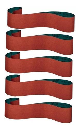 kit lixa cinta 785x75mm p/ g691 g690 mf-7 gr60 a gr120 - 5un