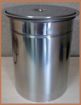 kit lixeira pia cozinha de embutir inox 8 e 10 litros