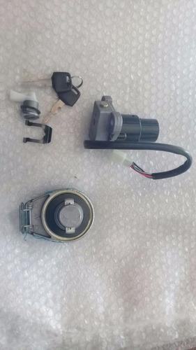 kit llave contacto y tapa de tanque motomel custom 150 - 2r