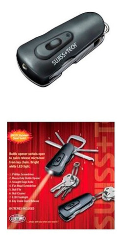 kit llavero herramientas 8 en 1 - tecsys