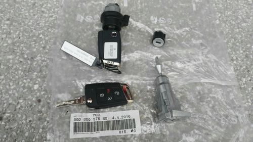 kit llaves cerraduras llavin golf gti mk7 oem