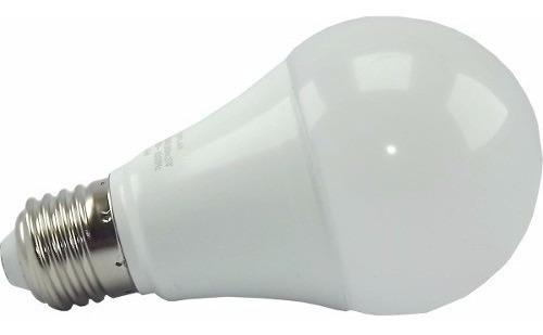 kit lâmpada led bulbo 12w luz branca fria ou branca quente