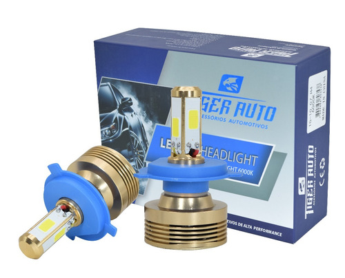 kit lâmpada super led 4d h4 h7 h8 h11 hb4 hb3 par com canbus