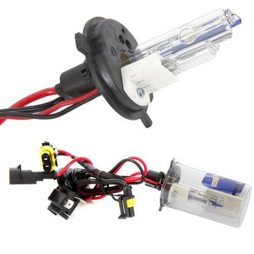 kit lâmpada xenon h4-2 novo uno evo 10/16 reator slim fiat