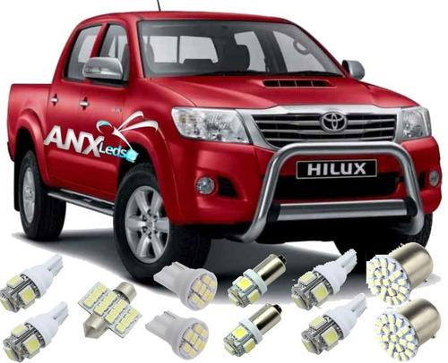 kit lâmpadas led hilux 2005 2009 2010  2012 2013 2014 2015