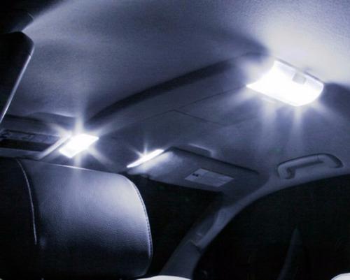 kit lâmpadas led s10 pingo placa ré luz xenon teto torpedo