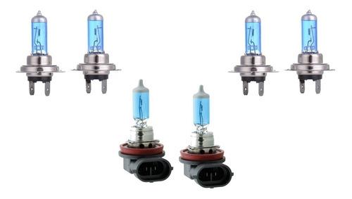 kit lâmpadas super branca farol baixo alto milha bmw série 1