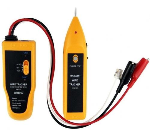 kit localizador rastreador identificador de cabos zumbidor p