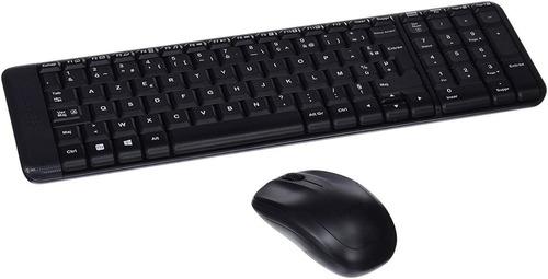 kit logitech mk220 mouse y teclado inalambrico usb español 9